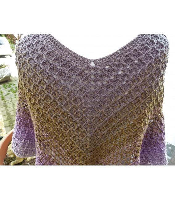"Crochet Pattern poncho ""Wintermorgen"" by Ramona Pall - image 4"