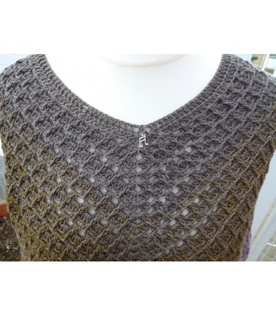 "Crochet Pattern poncho ""Wintermorgen"" by Ramona Pall - image 5"