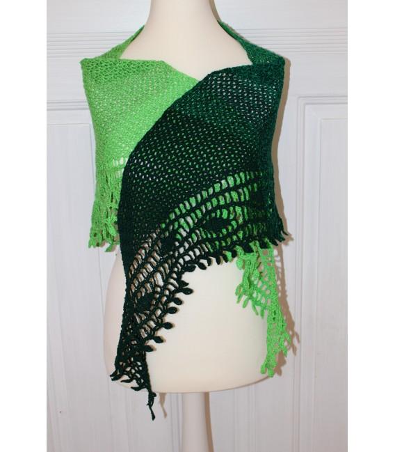 "Crochet Pattern shawl ""Blätterrascheln"" by Maike Ohlig - image 1"