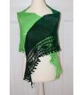 Blätterrascheln - crochet pattern - shawl