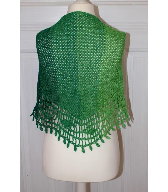 "Crochet Pattern shawl ""Blätterrascheln"" by Maike Ohlig - image 3"