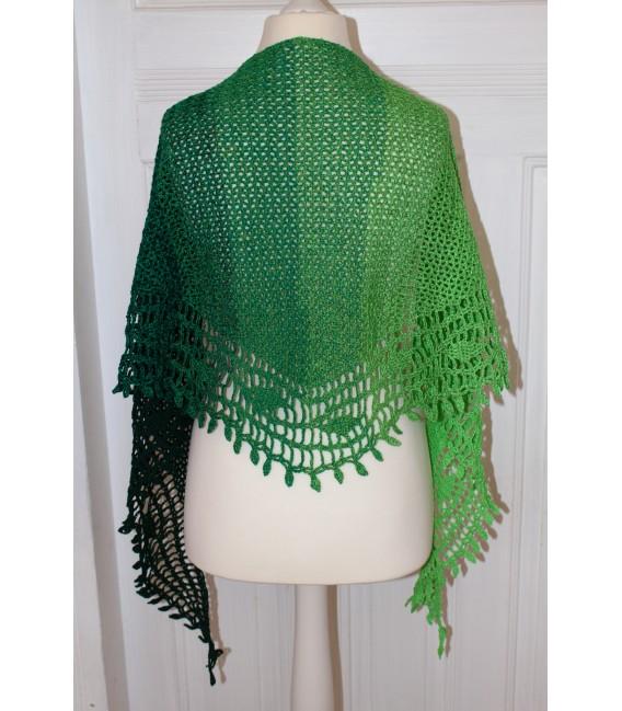 "Crochet Pattern shawl ""Blätterrascheln"" by Maike Ohlig - image 4"