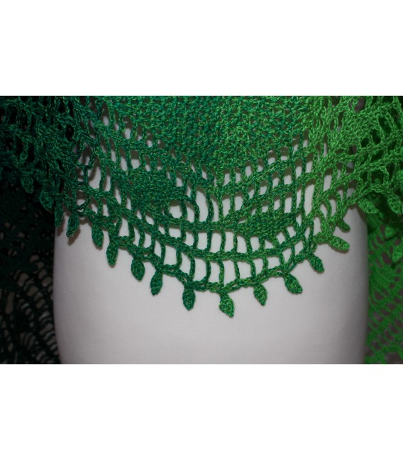 "modèle de crochet châle ""Blätterrascheln"" de Maike Ohlig - photo 5"