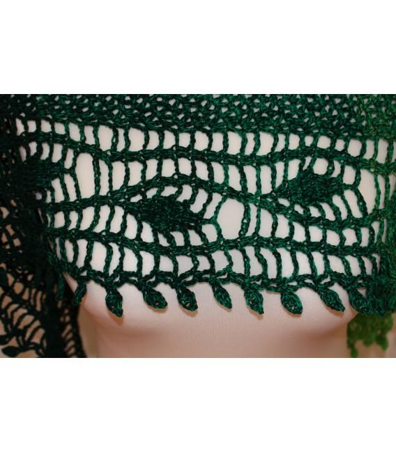 "modèle de crochet châle ""Blätterrascheln"" de Maike Ohlig - photo 6"
