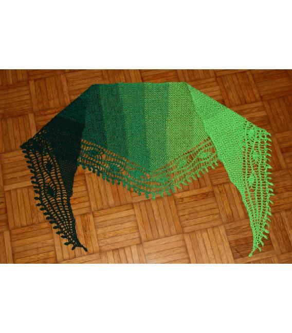 "Crochet Pattern shawl ""Blätterrascheln"" by Maike Ohlig - image 7"