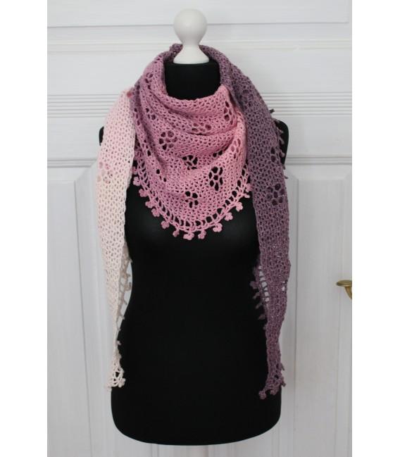 "Crochet Pattern shawl ""Blumentraum"" by Maike Ohlig - image 1"