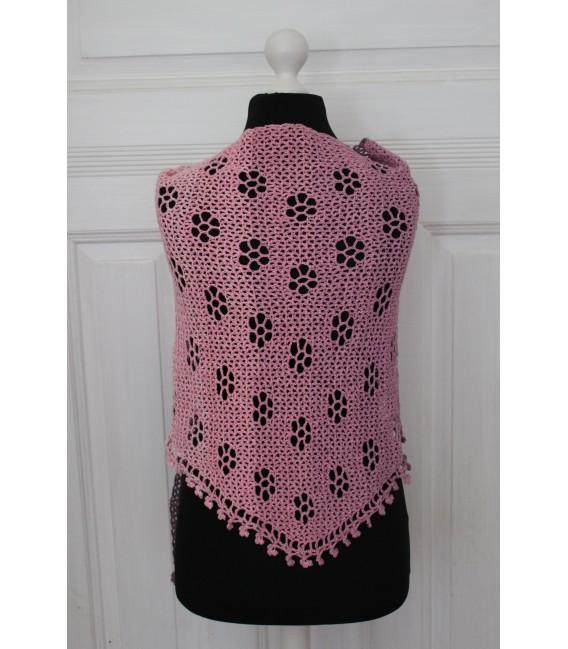 "Crochet Pattern shawl ""Blumentraum"" by Maike Ohlig - image 2"