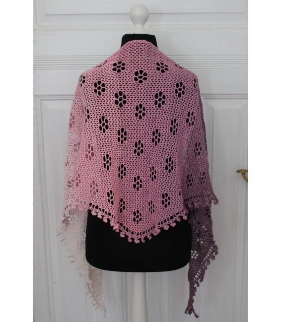 "Crochet Pattern shawl ""Blumentraum"" by Maike Ohlig - image 5"