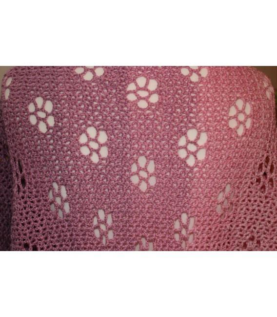 "Crochet Pattern shawl ""Blumentraum"" by Maike Ohlig - image 6"