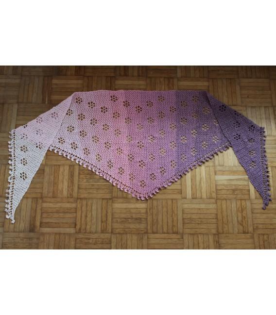 "Crochet Pattern shawl ""Blumentraum"" by Maike Ohlig - image 8"