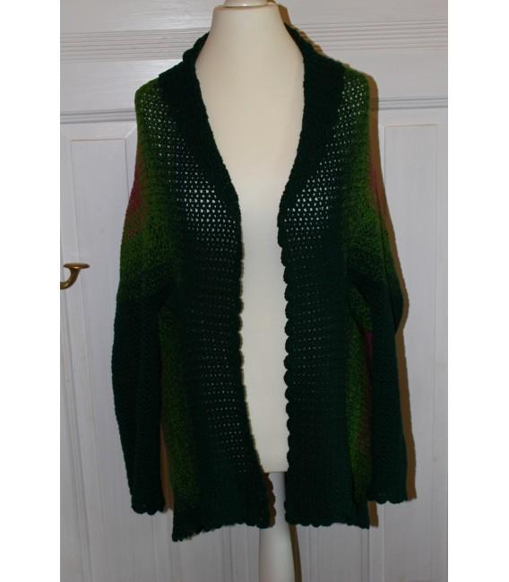 "Crochet Pattern jacket ""Body'n Soul"" by Maike Ohlig - image 1"