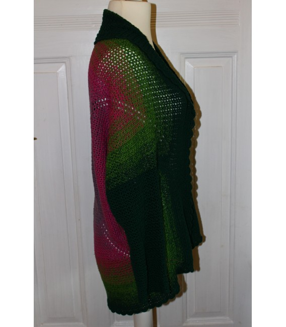 "Crochet Pattern jacket ""Body'n Soul"" by Maike Ohlig - image 4"