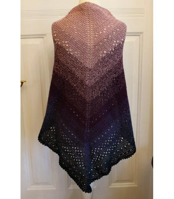 "Crochet Pattern shawl ""Bauchgefühl"" by Maike Ohlig - image 2"