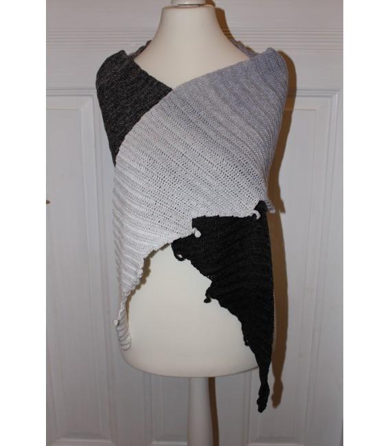 "Crochet Pattern shawl ""Drachenasche"" by Maike Ohlig - image 2"