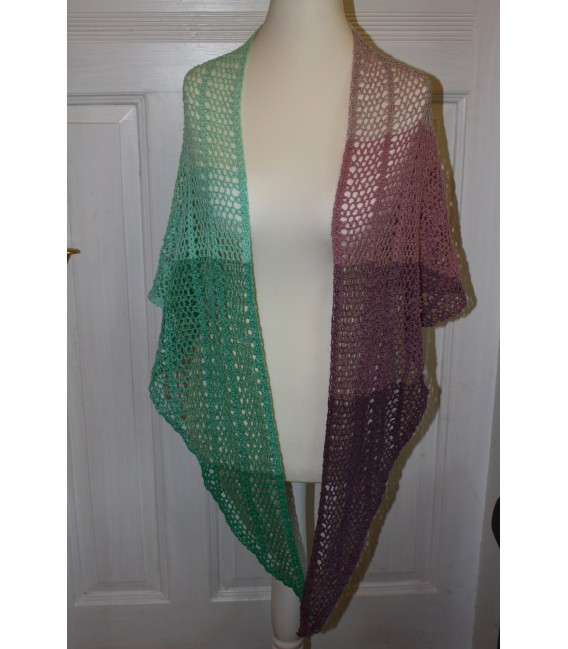 "Crochet Pattern shawl ""Estivale"" by Maike Ohlig - image 2"