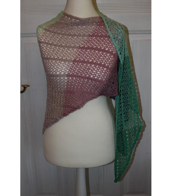 """modèle de crochet châle """"Estivale"""" de Maike Ohlig - photo 3"""