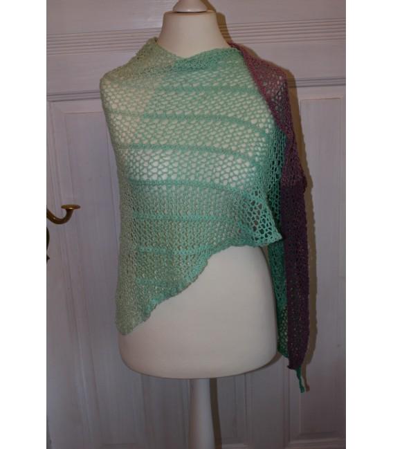 """modèle de crochet châle """"Estivale"""" de Maike Ohlig - photo 4"""