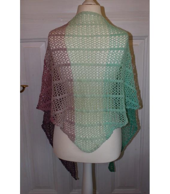 "Crochet Pattern shawl ""Estivale"" by Maike Ohlig - image 5"