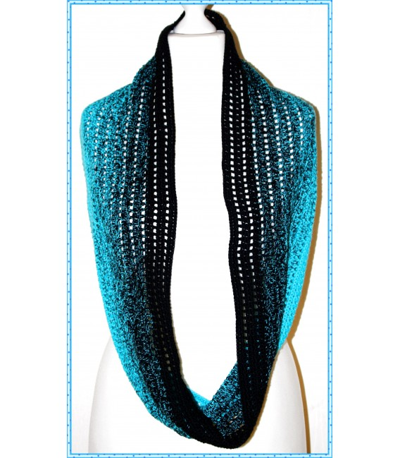 """Crochet Pattern scarf loop """"Easy going"""" by Maike Ohlig - image 1"""