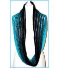 Easy going - modèle de crochet - Echarpes - boucle