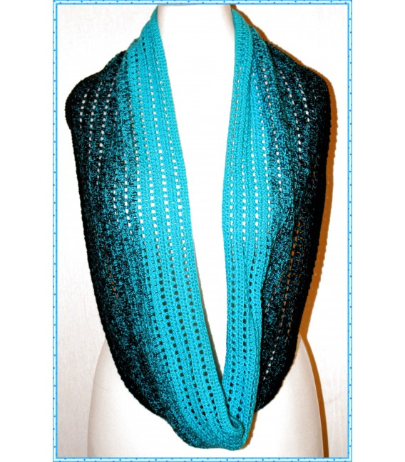 """Crochet Pattern scarf loop """"Easy going"""" by Maike Ohlig - image 2"""