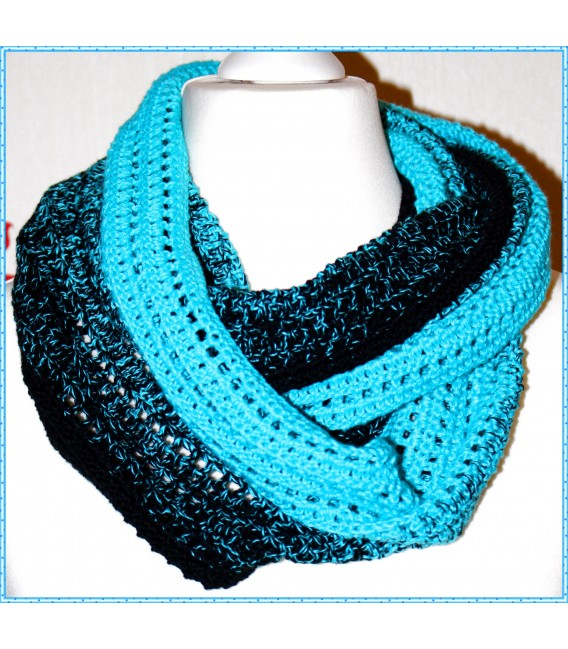 """Crochet Pattern scarf loop """"Easy going"""" by Maike Ohlig - image 3"""
