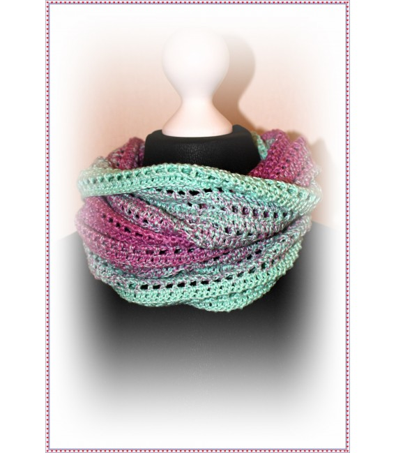 """Crochet Pattern scarf loop """"Easy going"""" by Maike Ohlig - image 5"""
