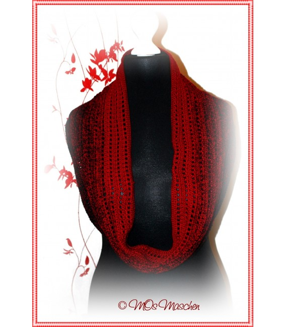 """Crochet Pattern scarf loop """"Easy going"""" by Maike Ohlig - image 6"""
