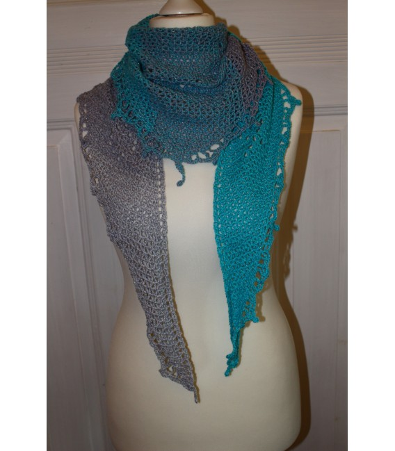 "Crochet Pattern shawl ""Fisch und Meer"" by Maike Ohlig - image 1"