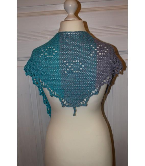 "Crochet Pattern shawl ""Fisch und Meer"" by Maike Ohlig - image 2"