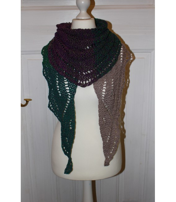 "Crochet Pattern shawl ""Geometrie"" by Maike Ohlig - image 1"