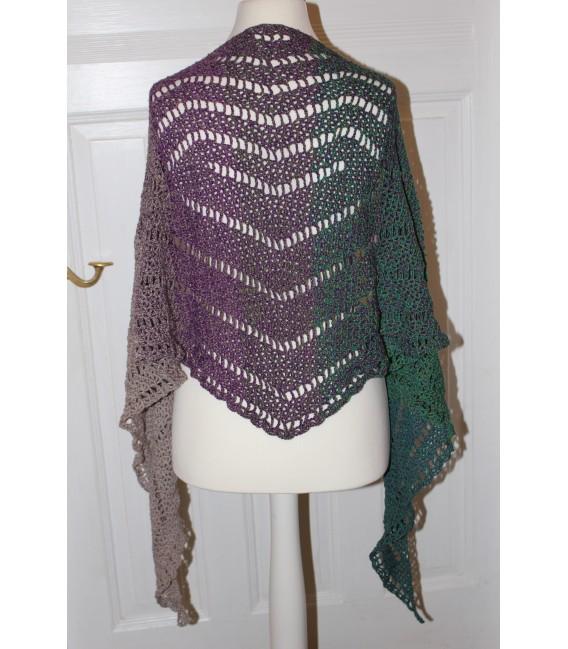 "Crochet Pattern shawl ""Geometrie"" by Maike Ohlig - image 2"