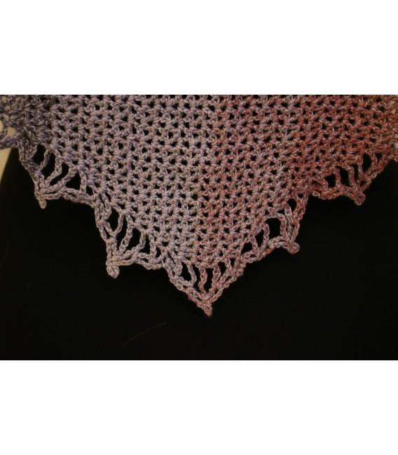 """modèle de crochet châle """"Majestät"""" de Maike Ohlig - photo 4"""