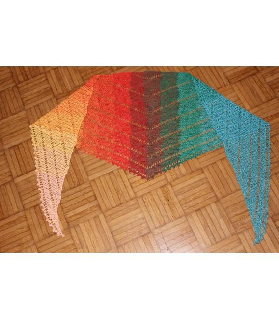 """modèle de crochet châle """"Simple Lines"""" de Maike Ohlig - photo 5"""