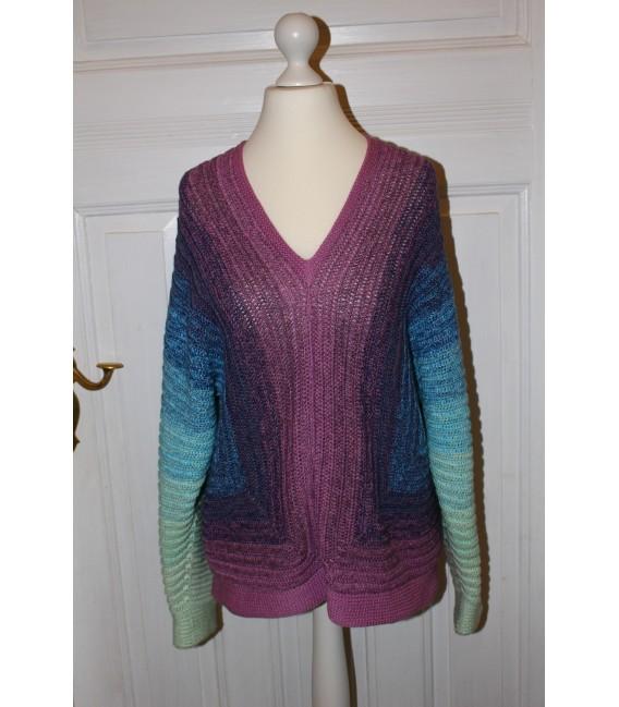 "Crochet Pattern shirt ""Spiegelbild"" by Maike Ohlig - image 1"