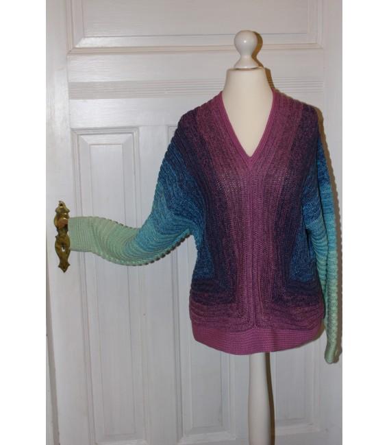 "modèle de crochet shirt ""Spiegelbild"" de Maike Ohlig - photo 2"