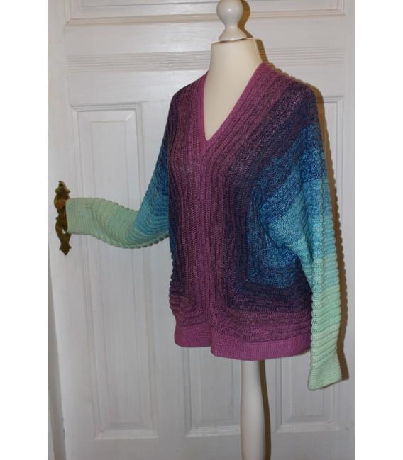 "Crochet Pattern shirt ""Spiegelbild"" by Maike Ohlig - image 3"