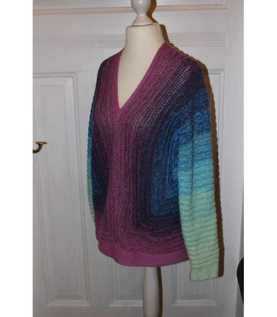 "modèle de crochet shirt ""Spiegelbild"" de Maike Ohlig - photo 4"