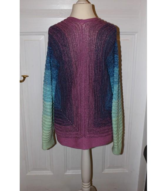 "modèle de crochet shirt ""Spiegelbild"" de Maike Ohlig - photo 5"