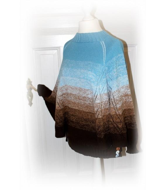 """modèle de tricot poncho """"Nothing'n all"""" de Maike Ohlig - photo 2"""