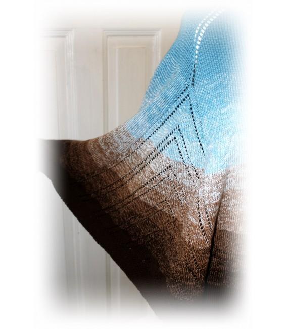 """modèle de tricot poncho """"Nothing'n all"""" de Maike Ohlig - photo 3"""