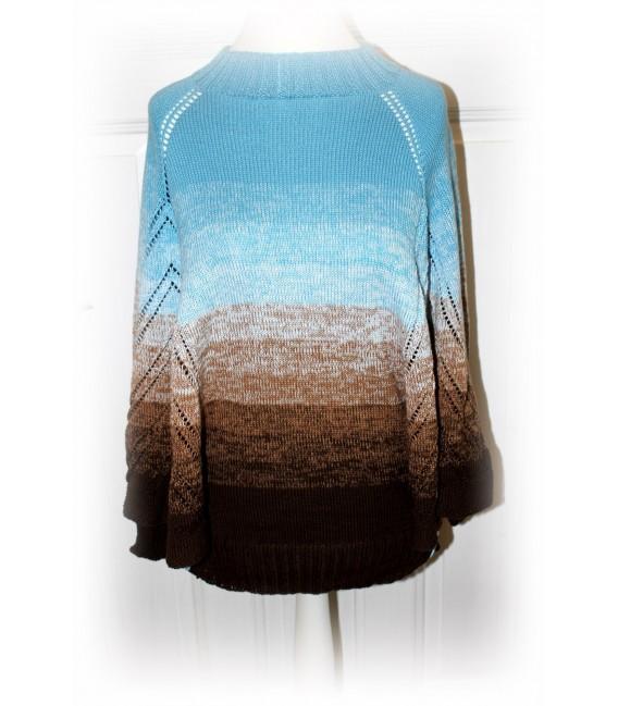 """modèle de tricot poncho """"Nothing'n all"""" de Maike Ohlig - photo 4"""