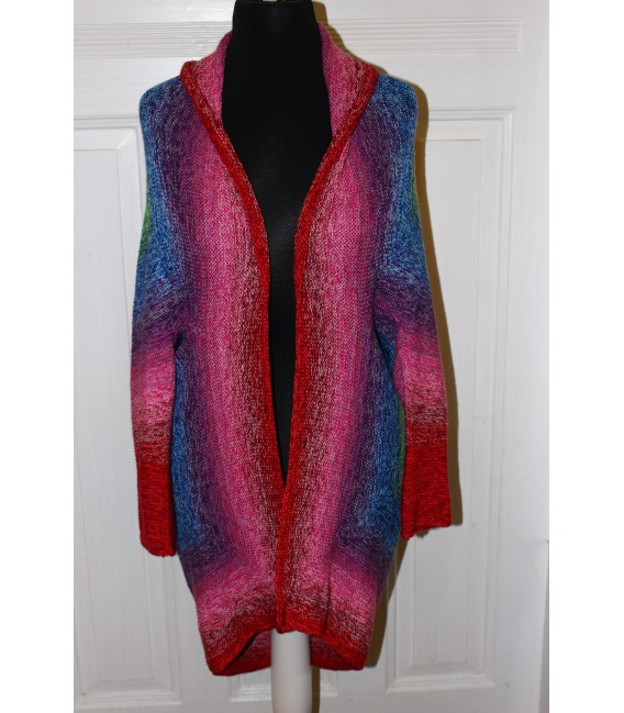 "Knitting pattern jacket ""San Francisco"" by Maike Ohlig - image 2"