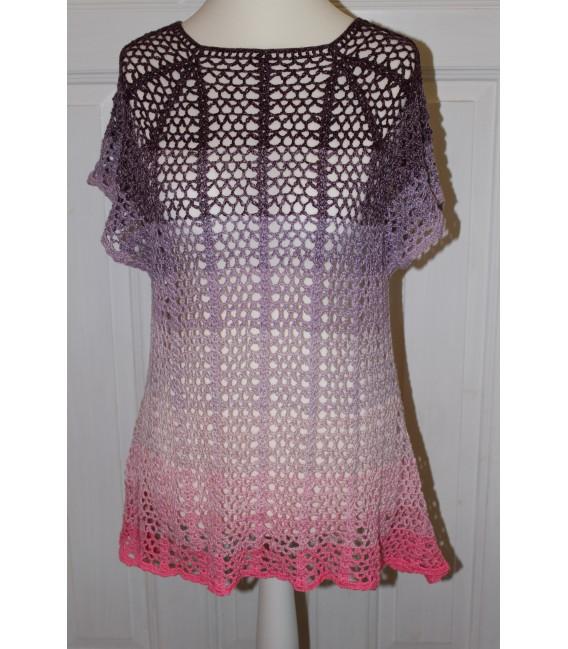 """modèle de crochet tunique """"Summer Breeze"""" de Maike Ohlig - photo 1"""