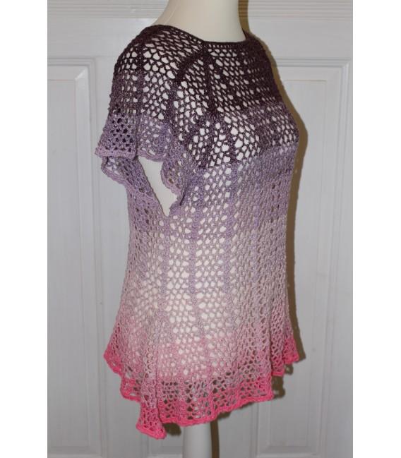 """modèle de crochet tunique """"Summer Breeze"""" de Maike Ohlig - photo 2"""