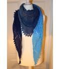 Tropfen im Meer - crochet pattern - shawl