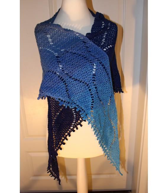"""Crochet Pattern shawl """"Tropfen im Meer"""" by Maike Ohlig - image 2"""