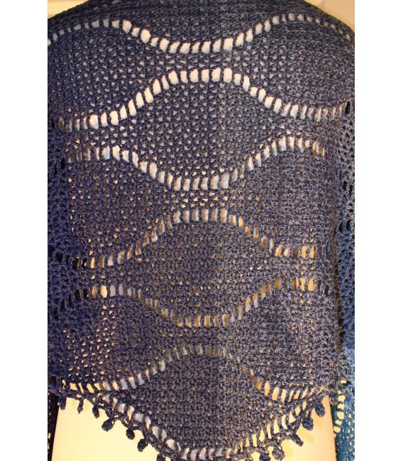 """Crochet Pattern shawl """"Tropfen im Meer"""" by Maike Ohlig - image 4"""