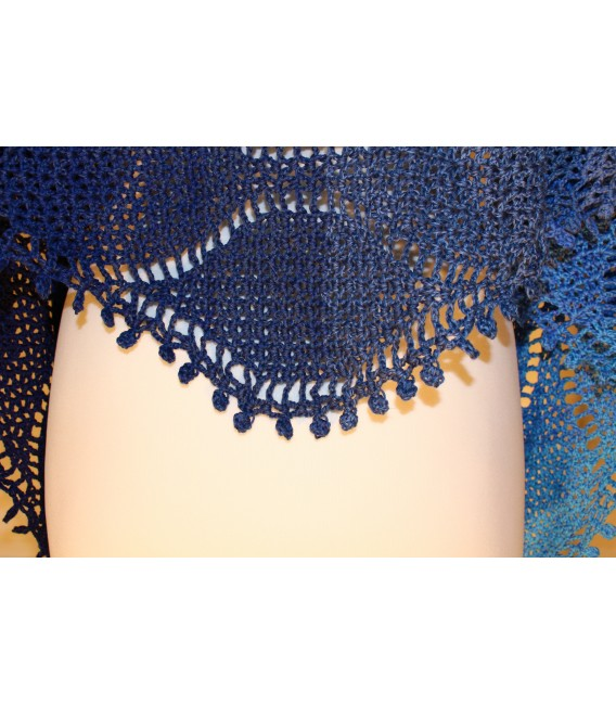 """Crochet Pattern shawl """"Tropfen im Meer"""" by Maike Ohlig - image 5"""