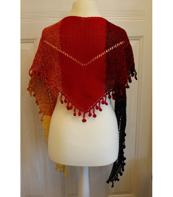 "Crochet Pattern shawl ""Victory"" by Maike Ohlig - image 2"